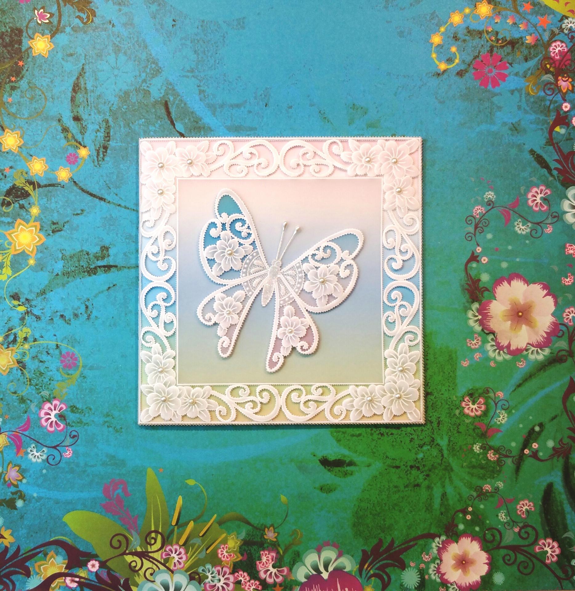 Carte papillon 005