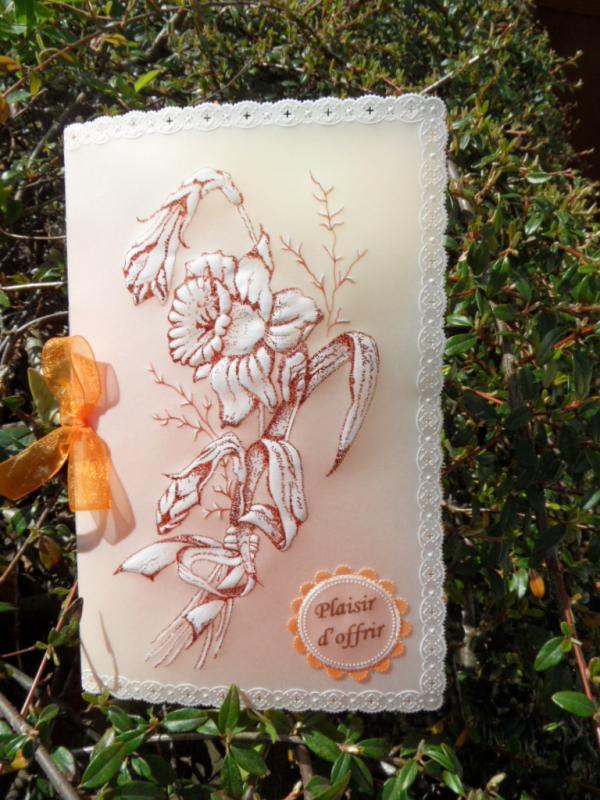 Carte fleur 022